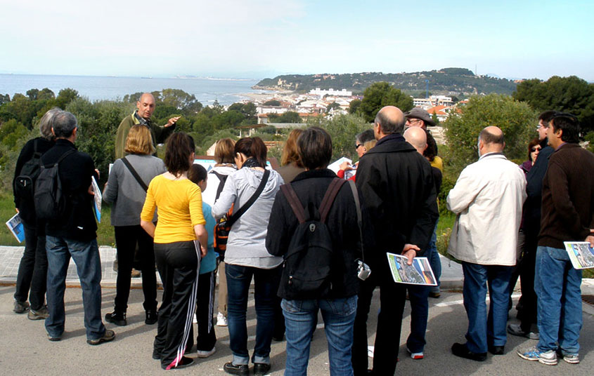 Foto visites guiades de Els Munts a Tamarit